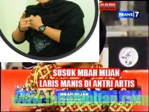SUSUK MBAH MIJAN,LARIS MANIS DI ANTRI ARTIS copy