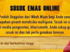 Susuk Emas Online