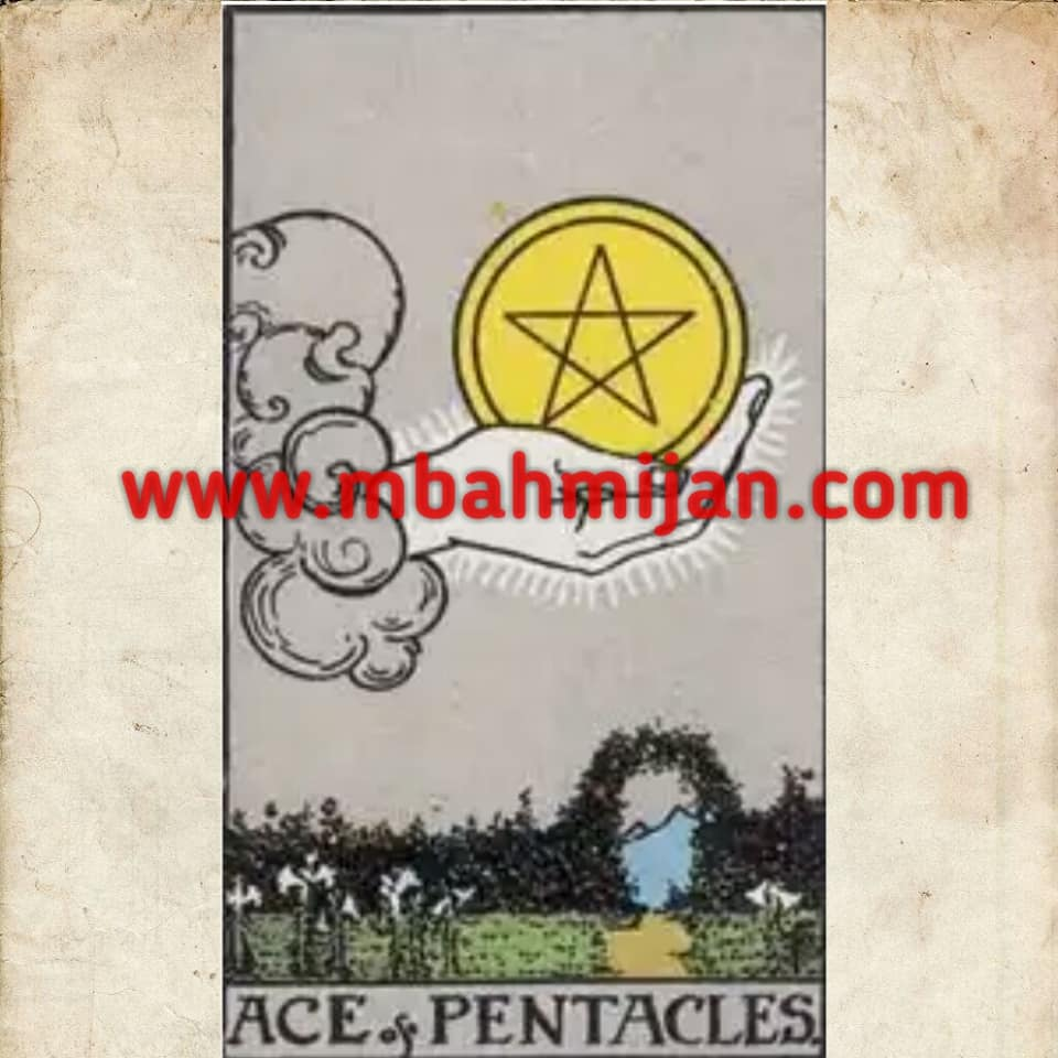 kartu tarot ace of pentacles