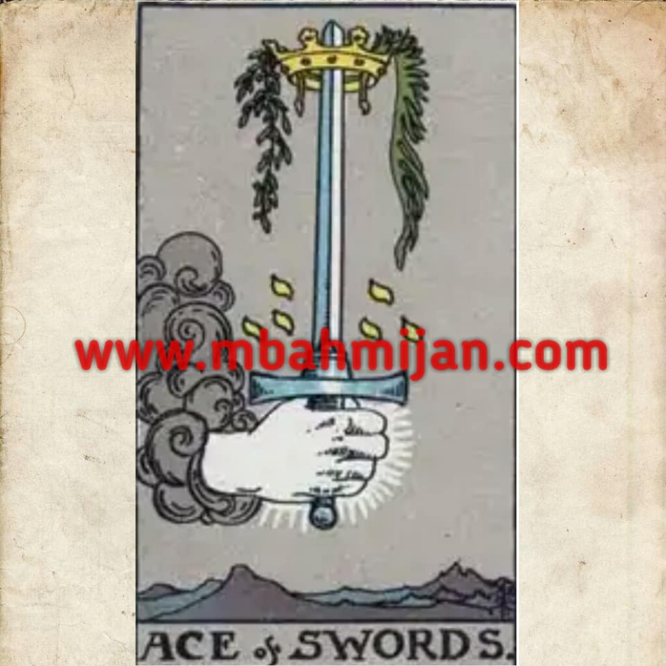 kartu tarot ace of swords