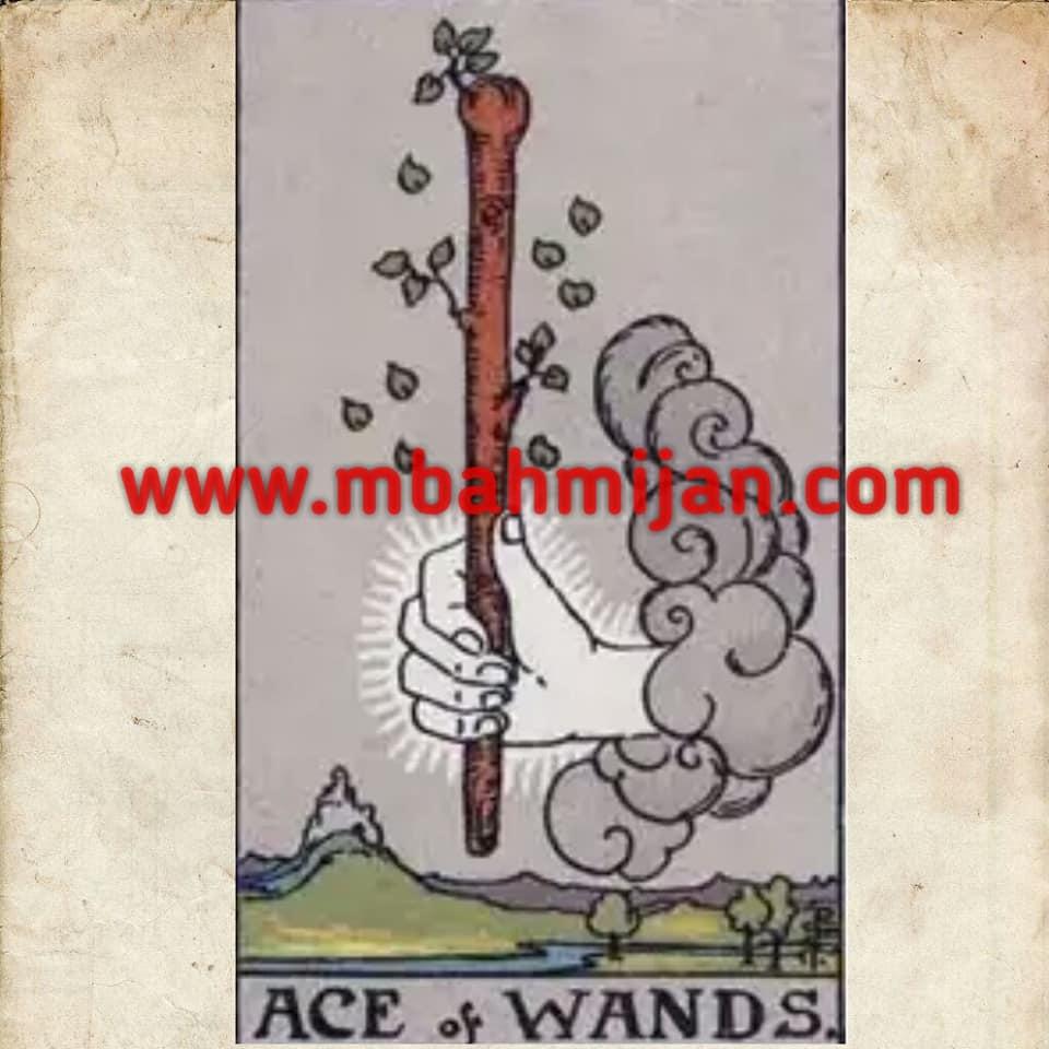 Kartu tarot ace of wands