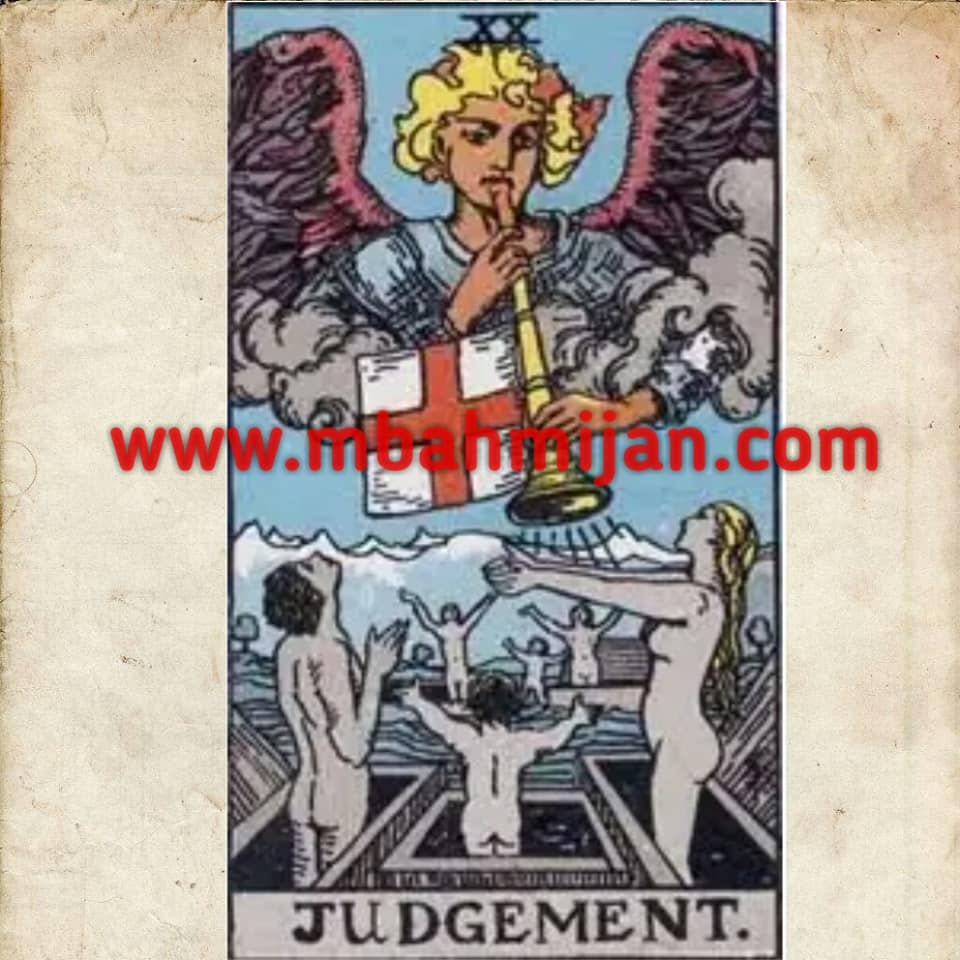 kartu tarot judgement