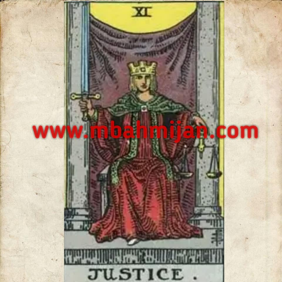 kartu tarot justice