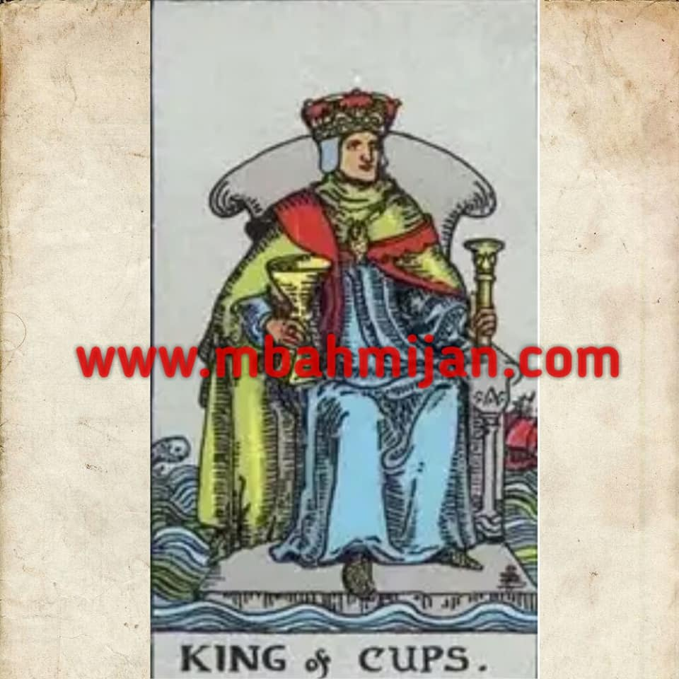 Kartu Tarot King Of Cups