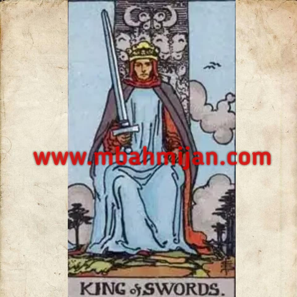 kartu tarot king of swords