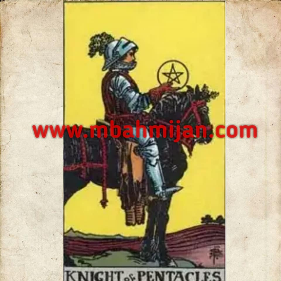 kartu tarot knight of pentacles