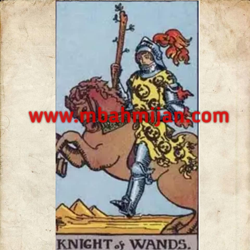 kartu tarot knight of wands