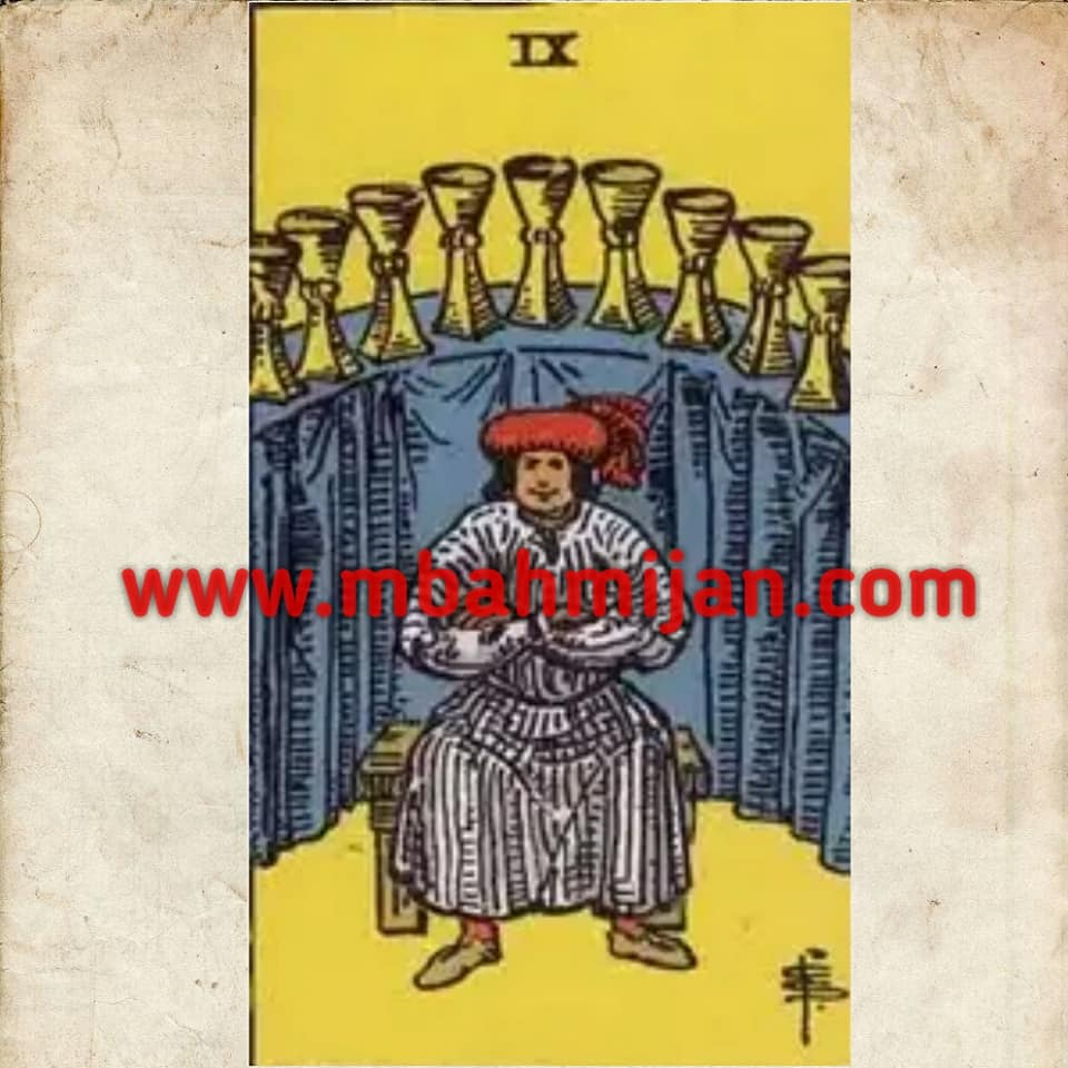 kartu tarot nine of cups