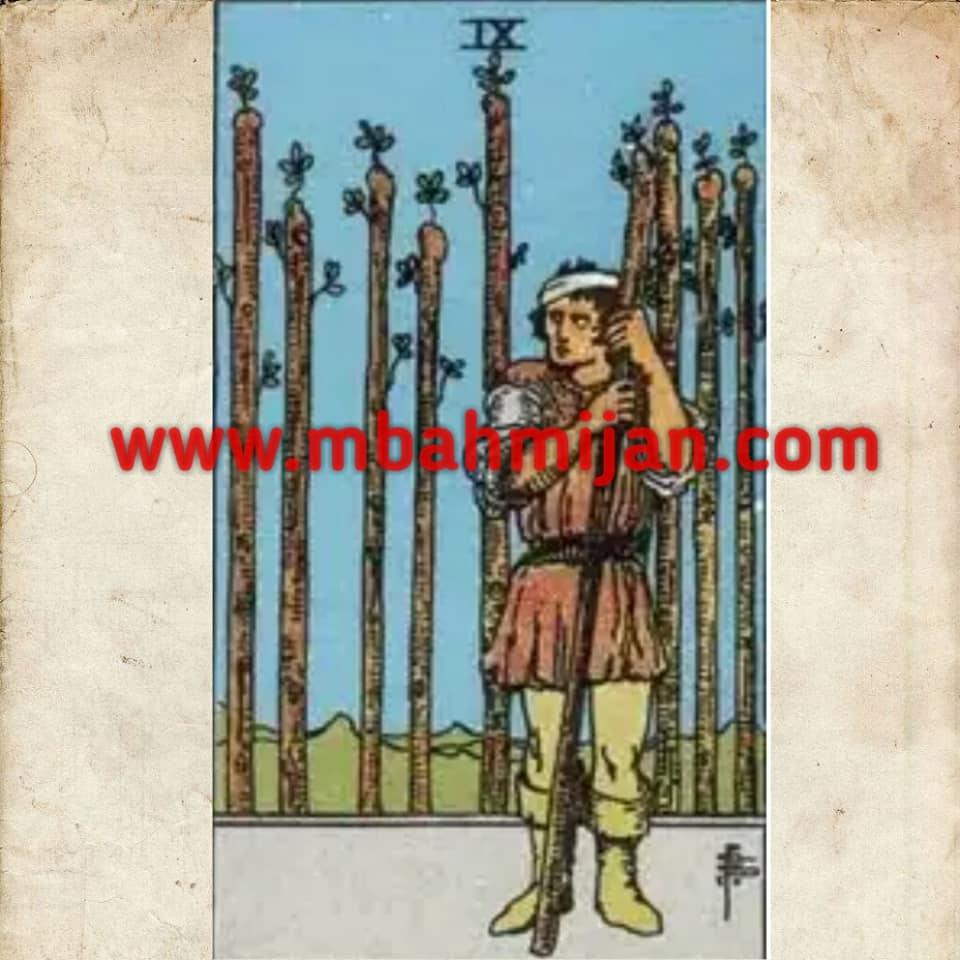 Kartu tarot nine of wands