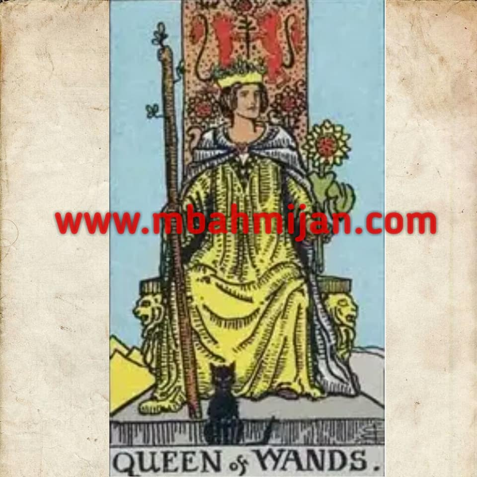kartu tarot queen of wands