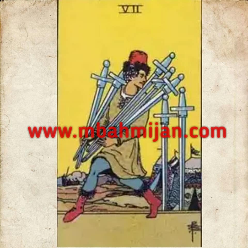 kartu tarot seven of swords