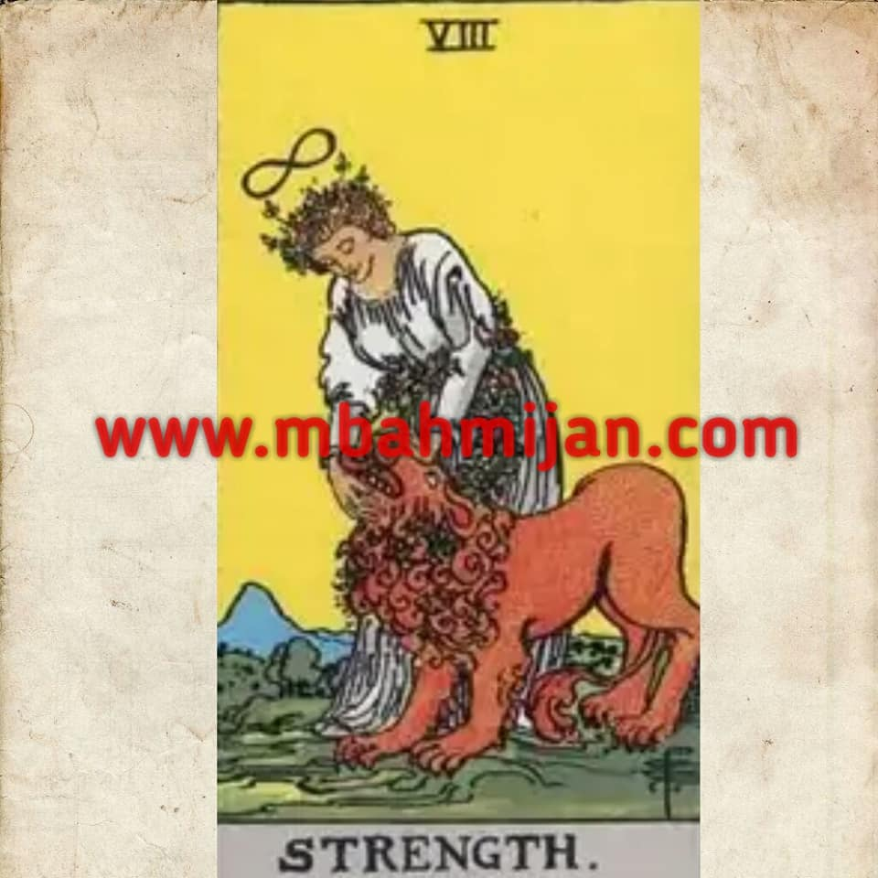 kartu tarot the strength