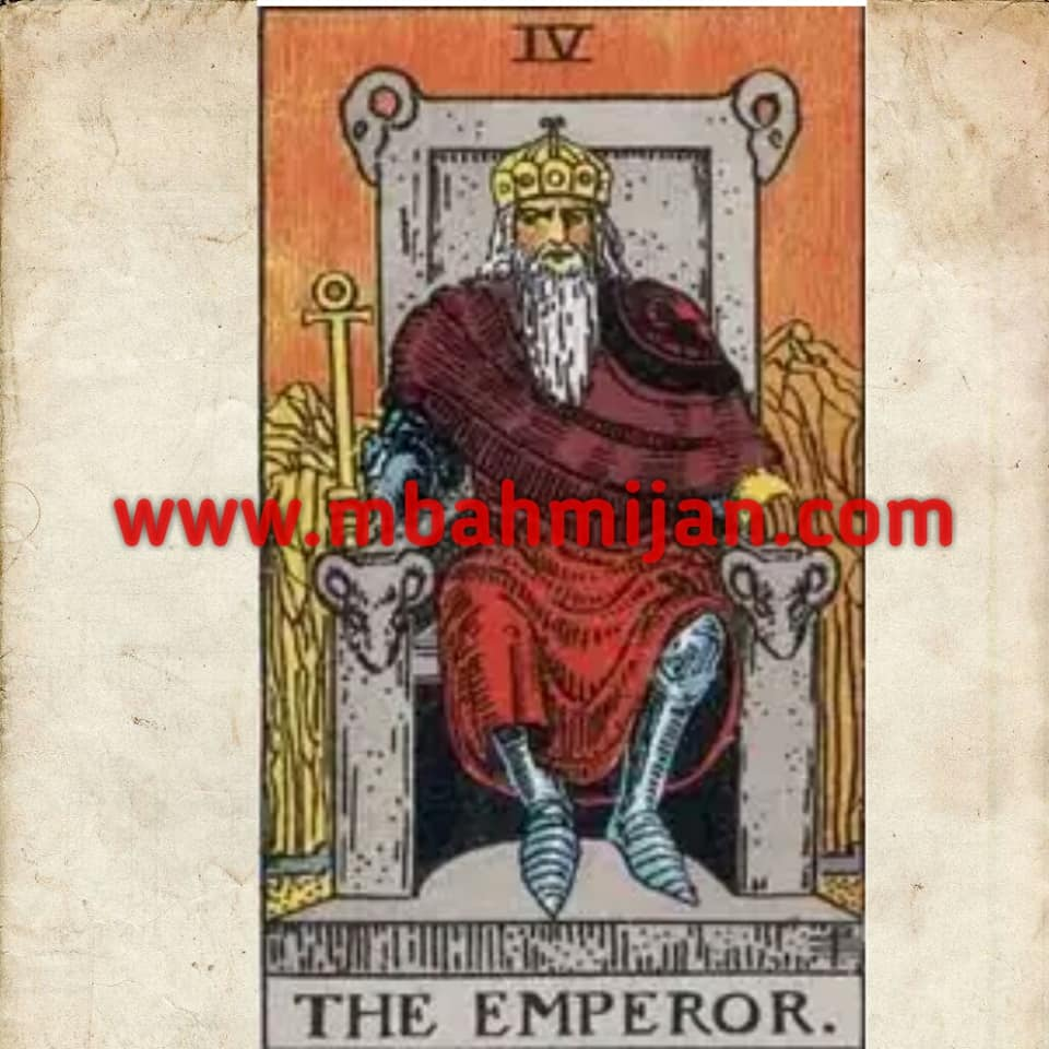 Kartu tarot the emperor