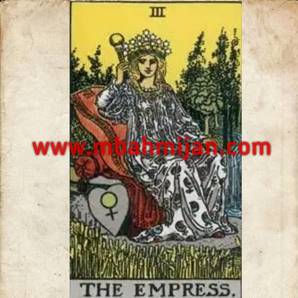 kartu tarot the empress