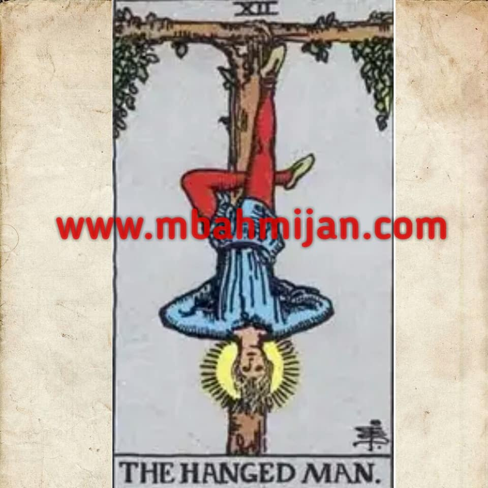 kartu tarot the hanged man