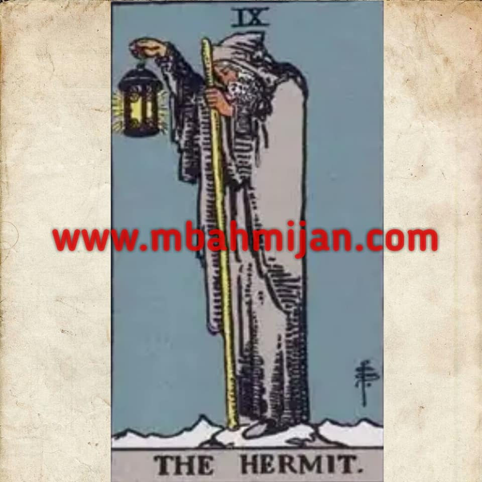 Kartu tarot the hermit