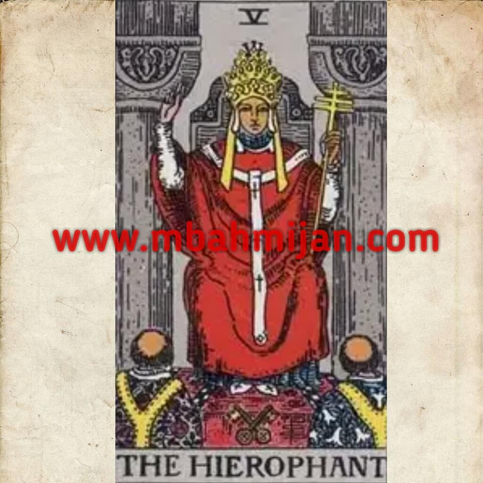 kartu tarot the hierophant