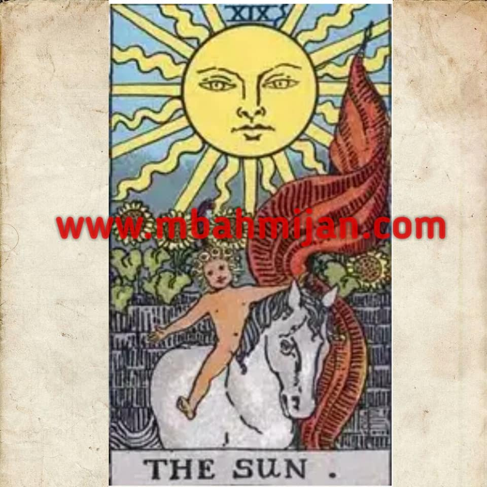 kartu tarot the sun