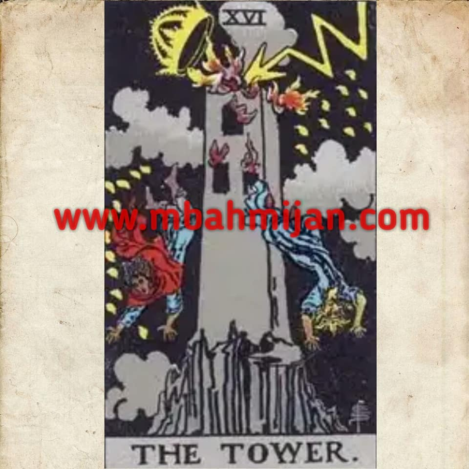 kartu tarot the tower