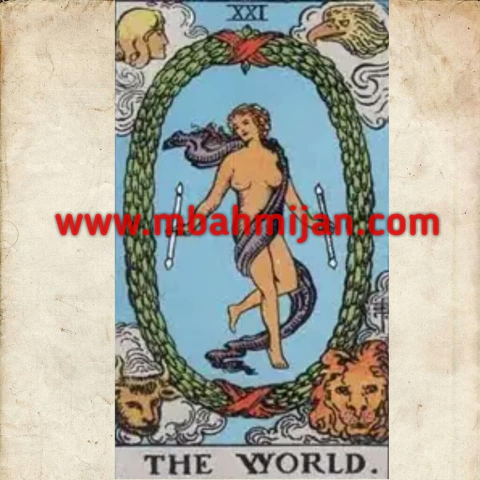 kartu tarot the world
