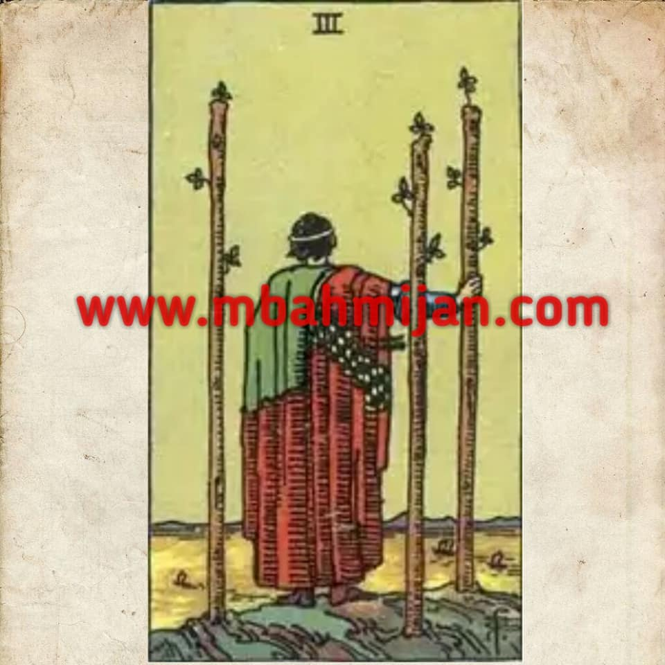 kartu tarot three of wands
