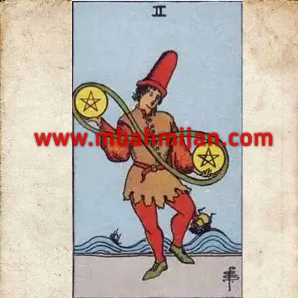 kartu tarot two of pentacles