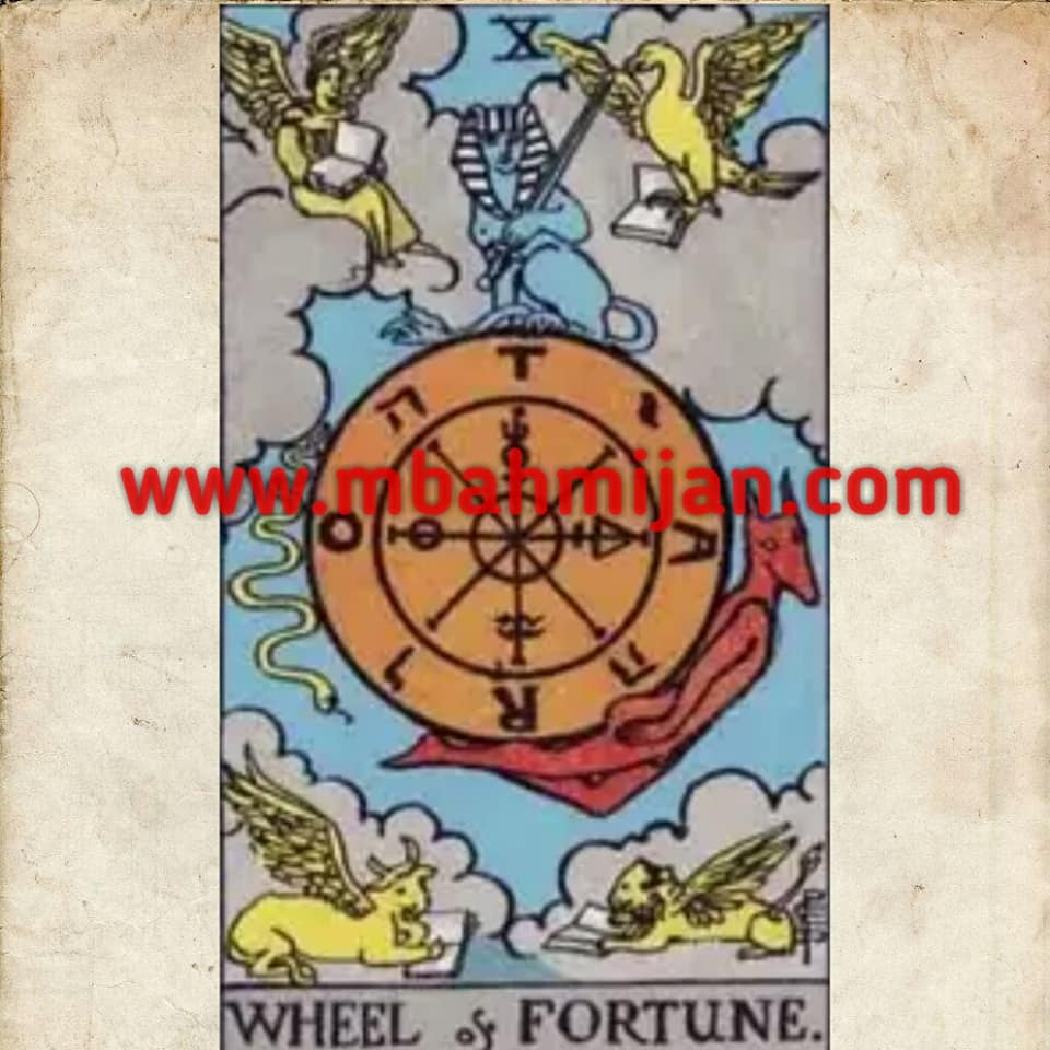 kartu tarot the wheel of fortune