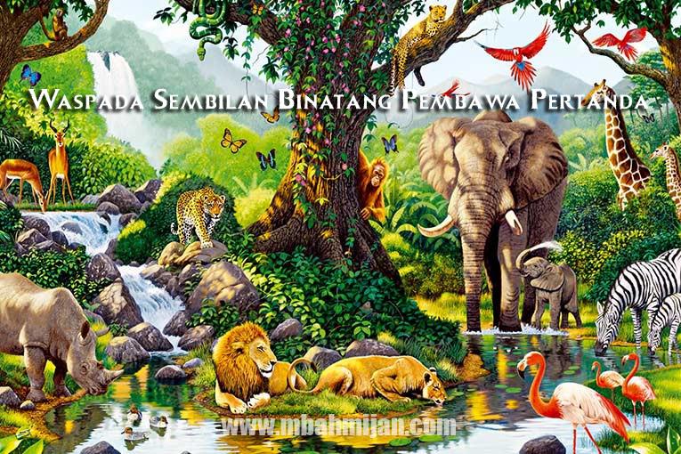 Waspada Sembilan Binatang Pembawa Pertanda