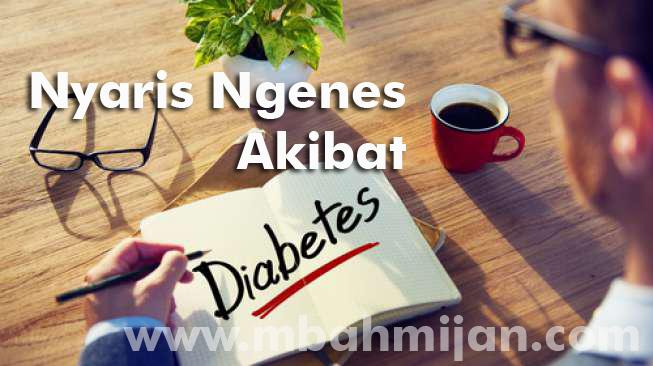 Nyaris Ngenes Akibat Diabetes